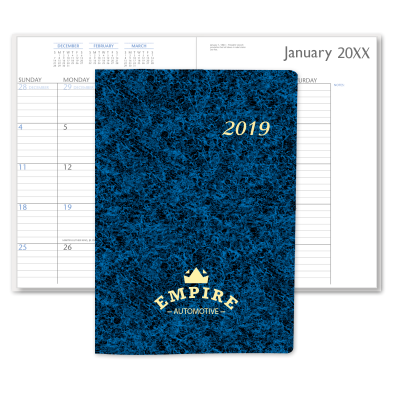 Picture of Marble Monthly Desk Planner