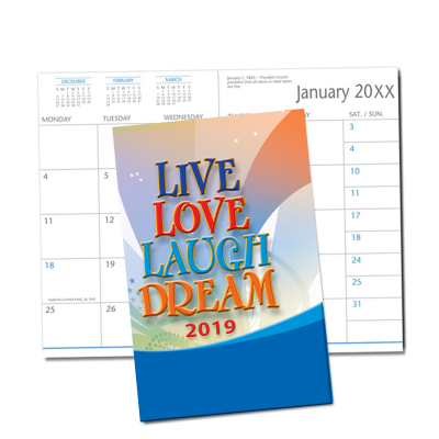 Picture of Live Love Laugh Dream Monthly Planner (CB17)