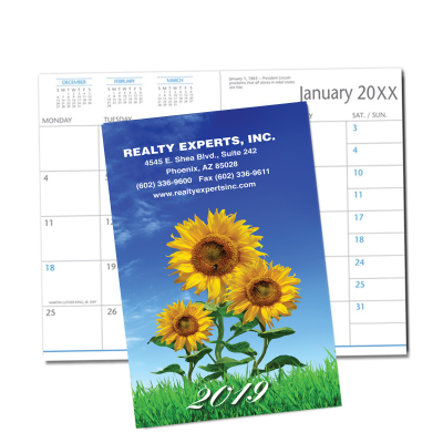 Picture of Sunflower Monthly Pocket Planner (CB21)