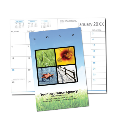 Picture of Four Seasons Monthly Pocket Planner (CB27)