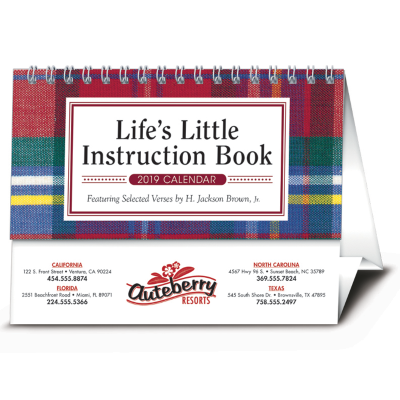 Picture of Life's Little Instruction Book Desk Calendar