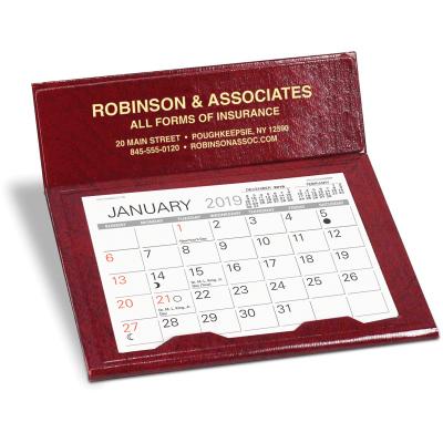 Picture of Slant Deluxe Desk Calendar