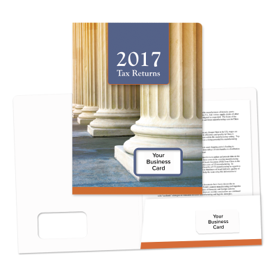 Picture of Success Tax Return Folders (Pillars)