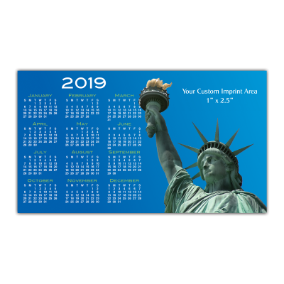 Picture of Calendar Magnet - Lady Liberty