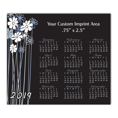Picture of Calendar Magnet - Paisleys