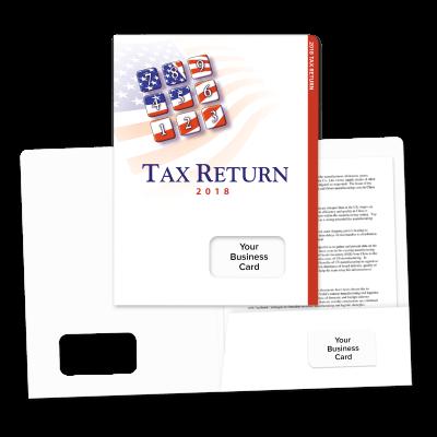 Picture of Success Tax Return Folders (Patriotic Keypad)