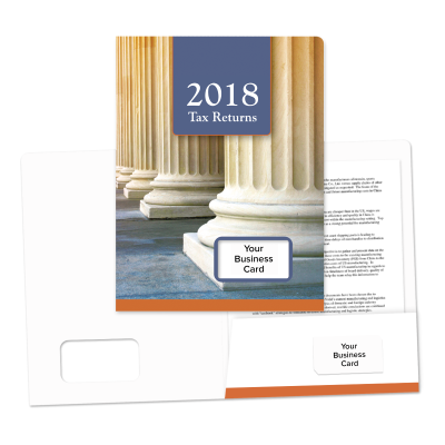 Picture of Success Tax Return Folders (Pillars)