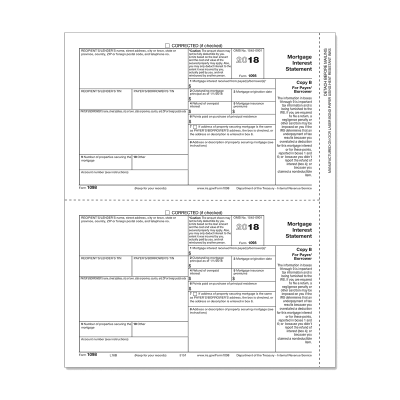 Picture of Form 1098 - Copy B Payer/Borrower (5151)