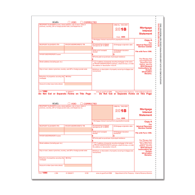 Picture of Form 1098 - Copy A Federal (5150)