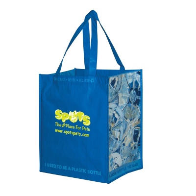 Picture of Tote Bags from 100% Recycled Bottles (Blue)