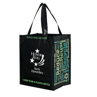 Picture of Tote Bags from 100% Recycled Bottles (Black)
