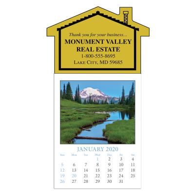 Picture of Scenic Stick-On Calendar