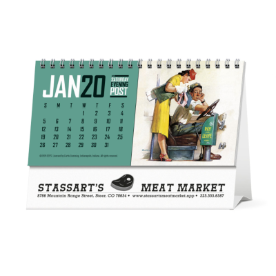 Picture of The Saturday Evening Post Desk Calendar