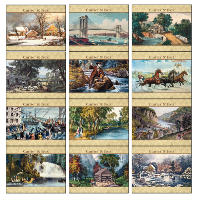 Picture of Currier & Ives Wall Calendar