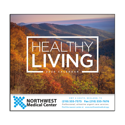 Picture of Healthy Living Wall Calendar