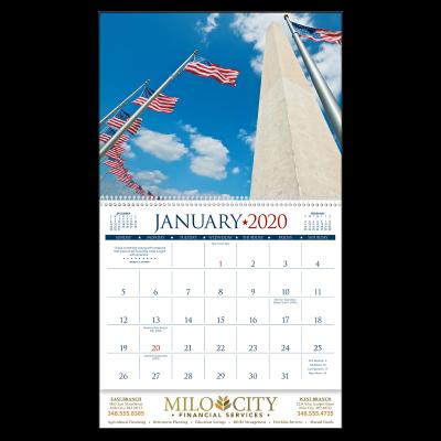 Picture of I Love America Wall Calendar