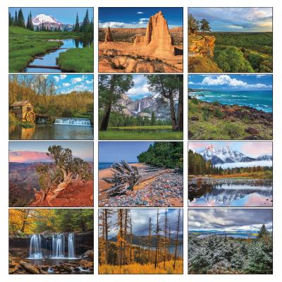 Picture of Beautiful America Wall Calendar