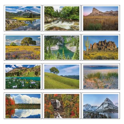 Picture of American Splendor Pocket Wall Calendar