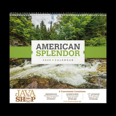 Picture of American Splendor Wall Calendar
