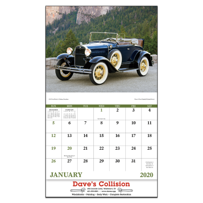 Picture of Antique Autos Wall Calendar