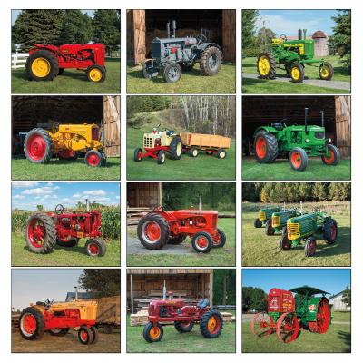Picture of Antique Tractors Wall Calendar