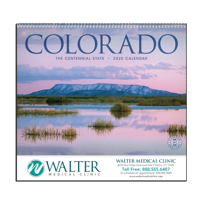 Picture of Colorado Wall Calendar