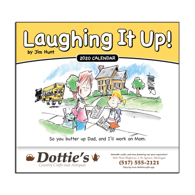 Picture of Laughing It Up! Wall Calendar