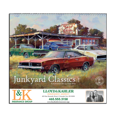 Picture of Junkyard Classics Wall Calendar