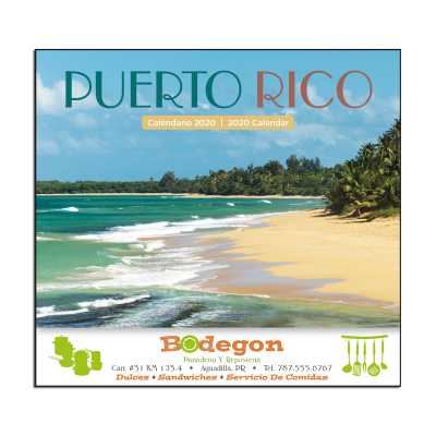 Picture of Puerto Rico Scenic Wall Calendar