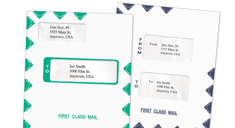 Tax Software Envelopes