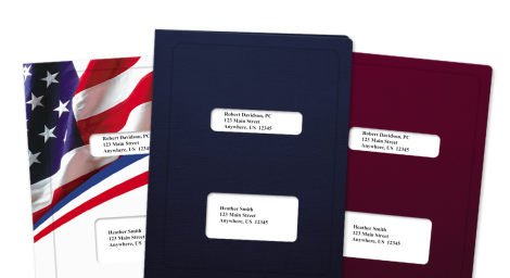 Accutax® Compatible Tax Folders