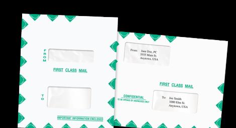 AccuTax® Envelopes