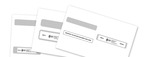 W2 and 1099 Tax Form Envelopes | Mines Press