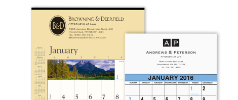 Commercial Wall Calendars