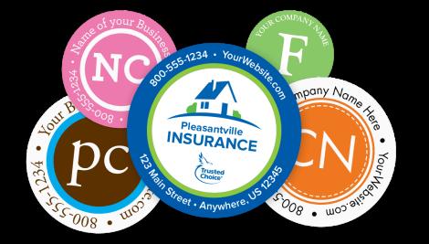 Personalized Label & Sticker Designs
