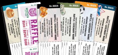 fundraising raffle tickets