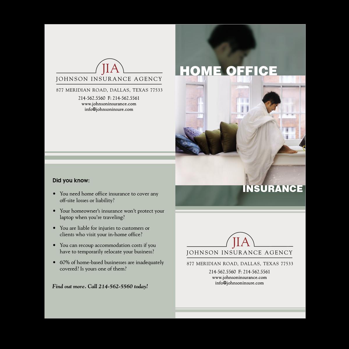 Home Office Insurance Brochure | Mines Press
