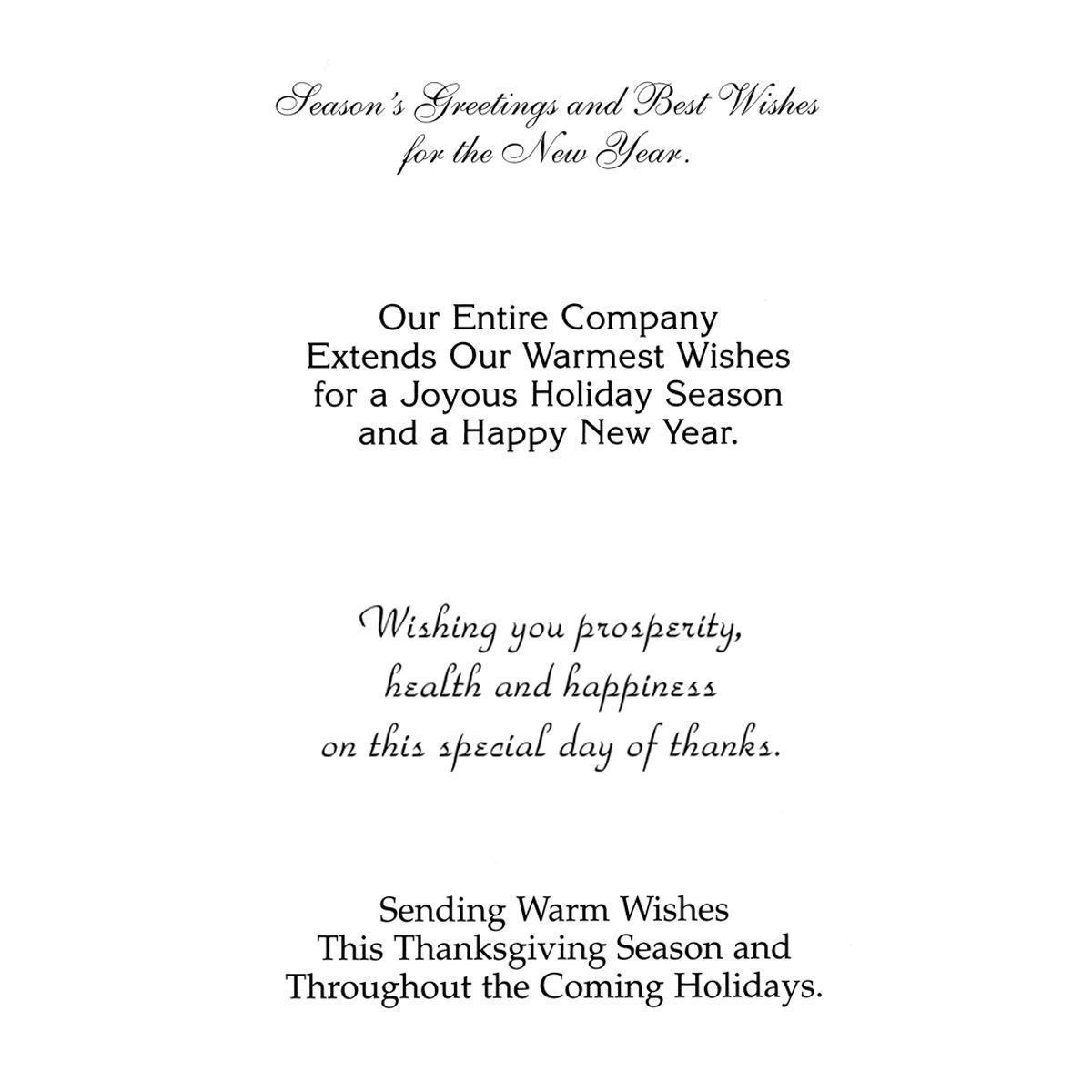 Holiday French Horn Greeting Card Mines Press