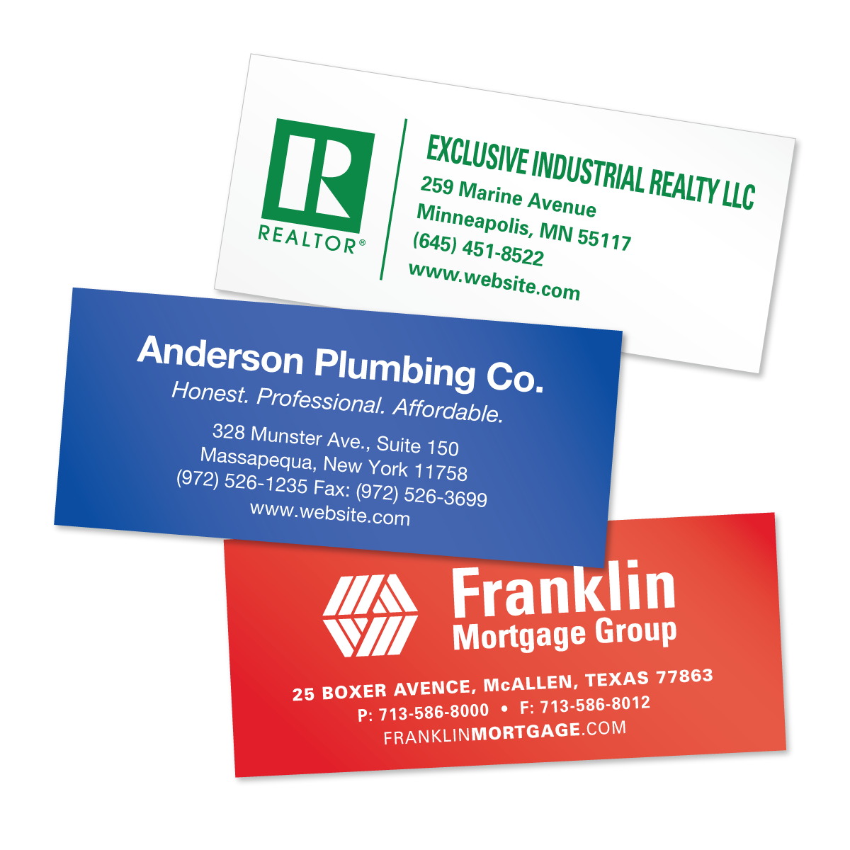 Picture Of Return Address Labels
