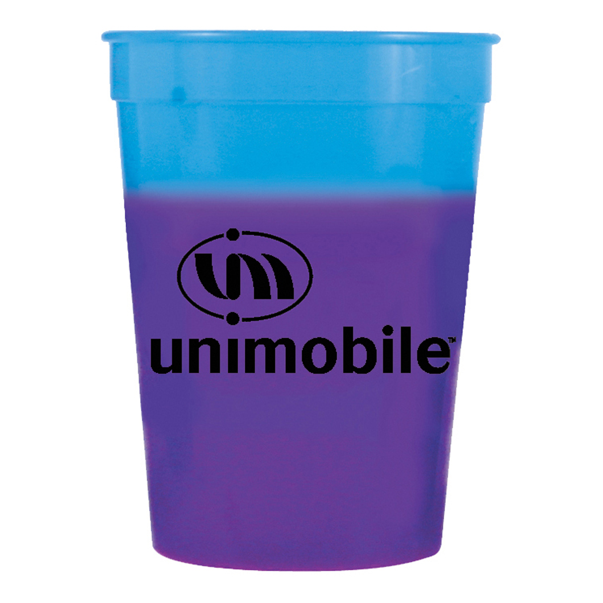 12 Oz Plastic Mood Stadium Cup Mines Press