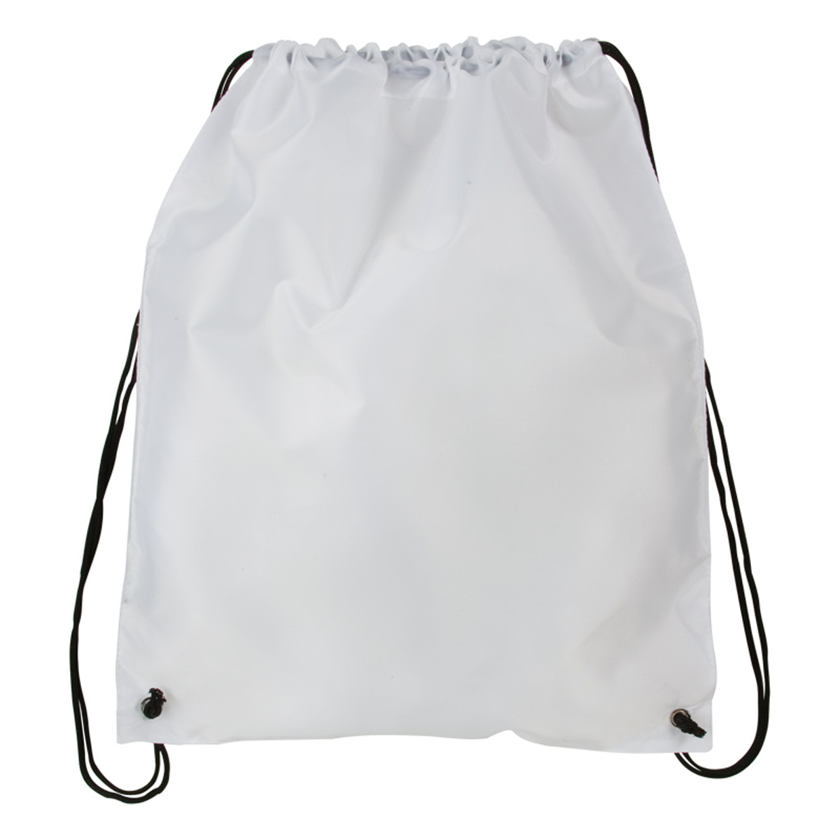 Polyester Drawstring Backpack Imprinted | Mines Press