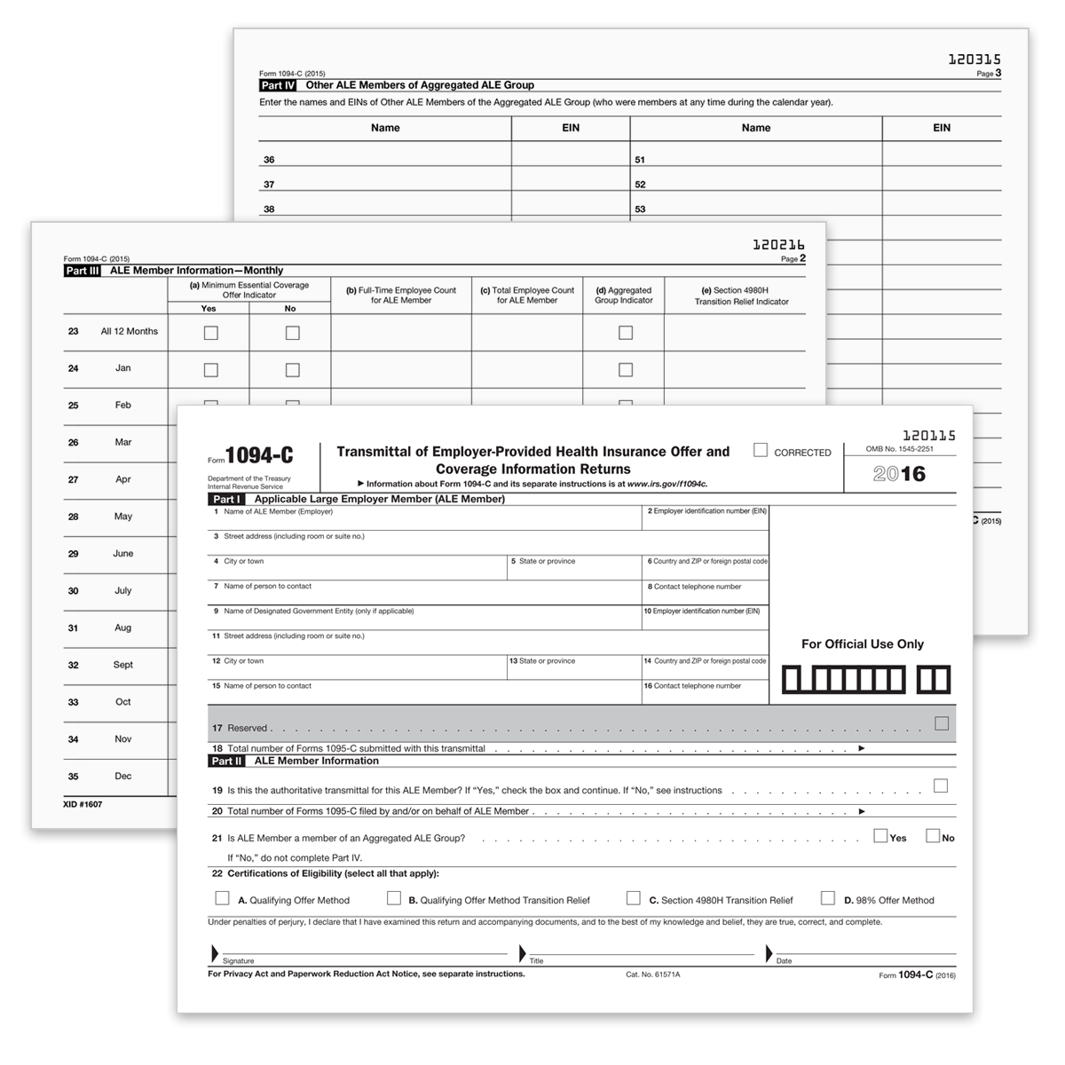 Form 1094 c transmittal of employer health 1094ct mines press picture of form 1094 c transmittal of employer health 1094ct falaconquin