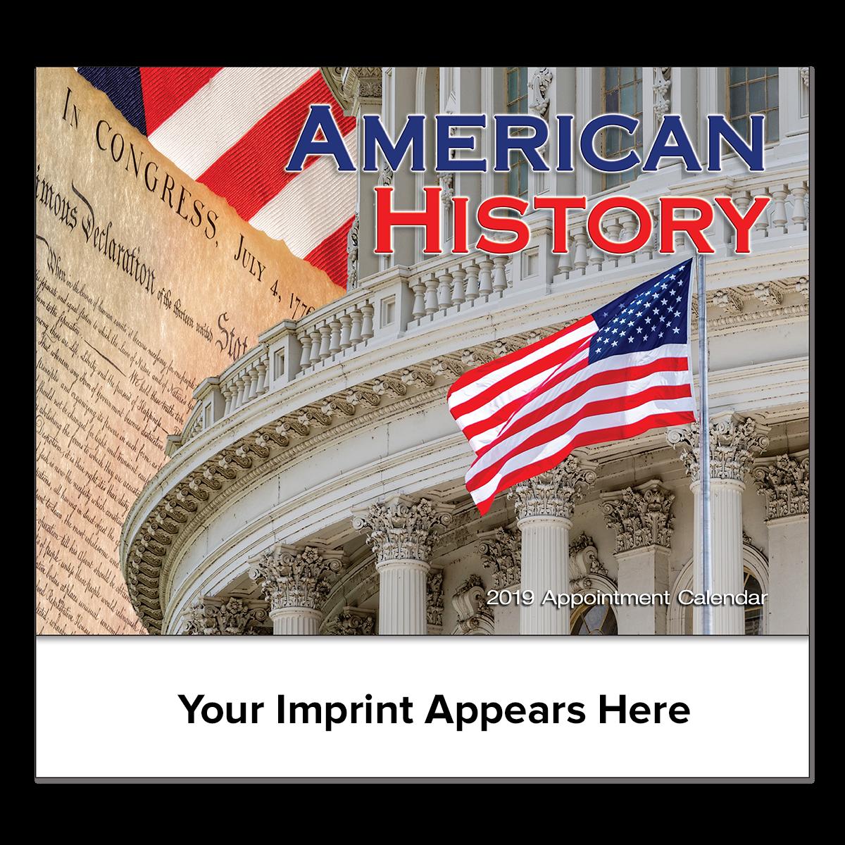 Great Symbols Of American History Wall Calendar Mines Press