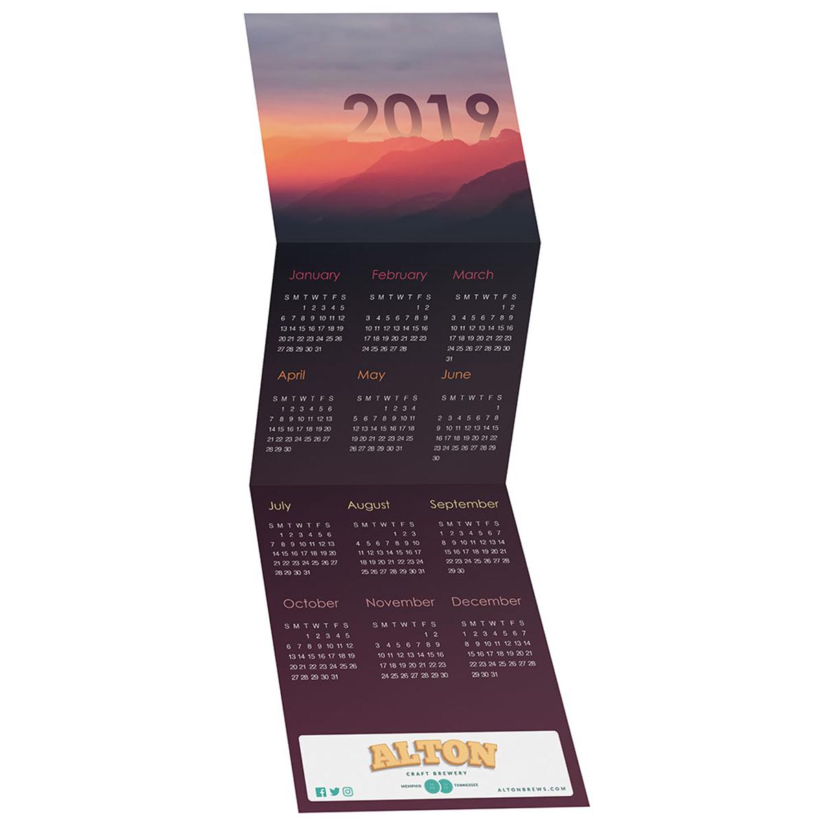 Landscape tri fold greeting card calendar mines press picture of landscape tri fold greeting card calendar kristyandbryce Images