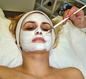 Esthetician Facial Mask
