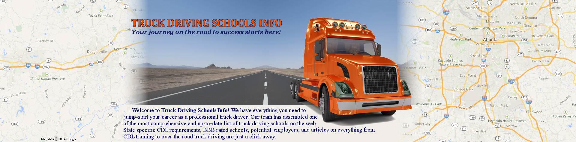 Truck Driving Schools Info
