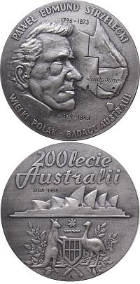 medal srebrzony oksydowany