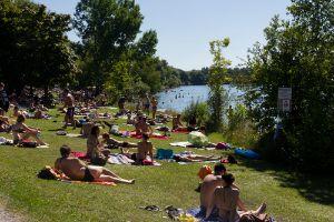 Badespaß an den Münchner Seen