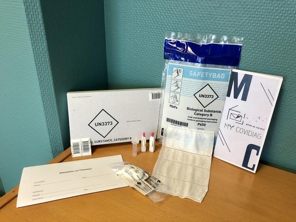 kit de test de détection d'anticorps anti-covid my covidiag