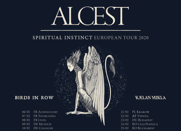 Birds In Row touring Europe supporting Alcest!